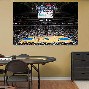Dallas Mavericks Arena Mural Fathead Wall Decal